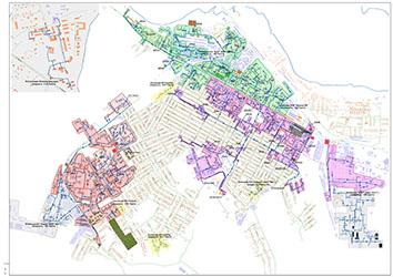 Информация о зонах действия существующих ЕТО г. Бердска для подключения объектов капитального строительства
