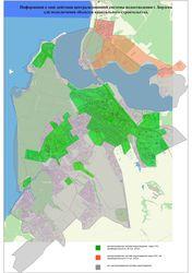 Информация о зоне действия централизованной системы водоотведения г. Бердска для подключения объектов капитального строительства.