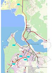 Схема системы водоснабжения города Бердска